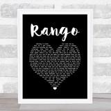 Catfish And The Bottlemen Rango Black Heart Song Lyric Music Gift Poster Print