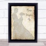 Bryan Adams Please Forgive Me Man Lady Dancing Song Lyric Music Gift Poster Print