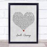 David Gray Sail Away Grey Heart Song Lyric Music Gift Poster Print