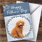 Goldendoodle Dog Traditional Animal Customised Father's Day Card