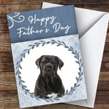 Cane Corso Dog Traditional Animal Customised Father's Day Card