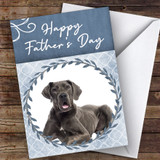 Great Dane Dog Traditional Animal Customised Father's Day Card