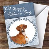 Azawakh Dog Traditional Animal Customised Father's Day Card