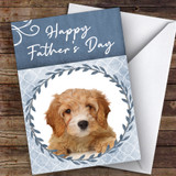 Cavapoo Dog Traditional Animal Customised Father's Day Card