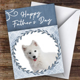 Samoyed Dog Traditional Animal Customised Father's Day Card