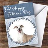 Whippet Dog Traditional Animal Customised Father's Day Card