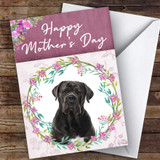 Cane Corso Dog Traditional Animal Customised Mother's Day Card