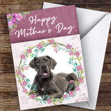 Great Dane Dog Traditional Animal Customised Mother's Day Card