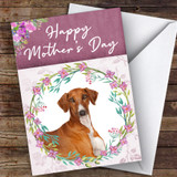 Azawakh Dog Traditional Animal Customised Mother's Day Card