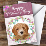 Cavapoo Dog Traditional Animal Customised Mother's Day Card