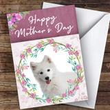 Samoyed Dog Traditional Animal Customised Mother's Day Card