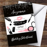 Make Up Merry Christmas Hobbies Customised Christmas Card