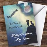 Astronomy Solar System Hobbies Customised Christmas Card