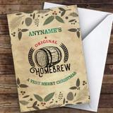 Homebrew Hobbies Customised Christmas Card