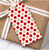 Spotty Dots Christmas Gift Tags