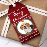 Beagle Dog Christmas Gift Tags