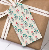 Cute Bells Christmas Gift Tags