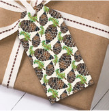 Pine Cones Christmas Gift Tags