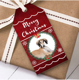 Saluki Dog Christmas Gift Tags