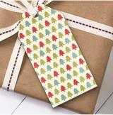 Xmas Trees Christmas Gift Tags