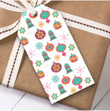 Colourful Christmas Gift Tags