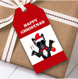 Funny Dog Christmas Gift Tags