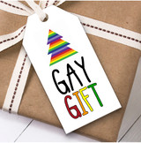 Gay Gift Christmas Gift Tags