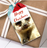 Meerkat Christmas Gift Tags