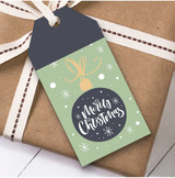 Green Christmas Gift Tags