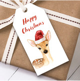 Deer Christmas Gift Tags