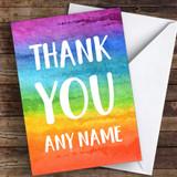 Rainbow Colours Keyworker Thank You Coronavirus Quarantine Greetings Card