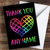Rainbow Heart Keyworker Thank You Coronavirus Quarantine Greetings Card