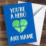 Hero Keyworker Thank You Coronavirus Quarantine Greetings Card