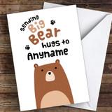 Sending Bug Bear Hugs Coronavirus Quarantine Greetings Card