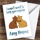 Bears Hug You Again Coronavirus Quarantine Greetings Card