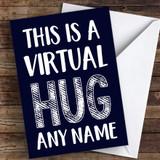 Virtual Hug Coronavirus Quarantine Greetings Card
