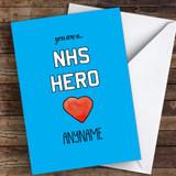 NH's Hero Coronavirus Quarantine Greetings Card