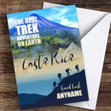 Trek Costa Rica Good Luck Personalised Good Luck Card