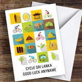 Bike Sri Lanka Good Luck Personalised Good Luck Card