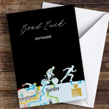 Ironman Tenby Good Luck Personalised Good Luck Card