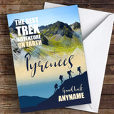 Trek Pyrenees Good Luck Personalised Good Luck Card