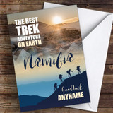 Trek Namibia Good Luck Personalised Good Luck Card