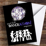 Danceathon Good Luck Personalised Good Luck Card