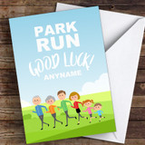 Park Run Good Luck Personalised Good Luck Card