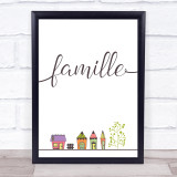 Famille Home French Style Framed Wall Art Print