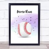 Basketball Home Run Decorative Wall Art Print