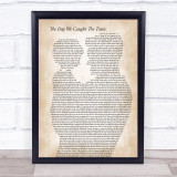 Ocean Colour Scene The Day We Caught The Train Father & Child Song Lyric Print