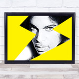 Prince Bright Yellow Lightening Funky Wall Art Print