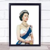 Queen Elizabeth Rules Wall Art Print