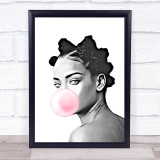 Rihanna Bubblegum Wall Art Print